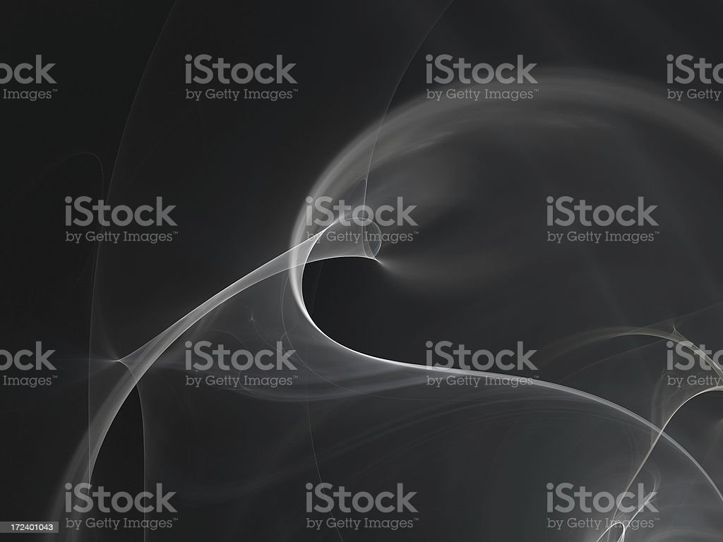 abstract gray silky smoke background royalty-free stock photo