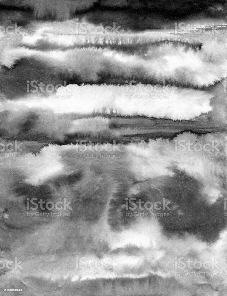 Abstract gray watercolor striped texture stock photo