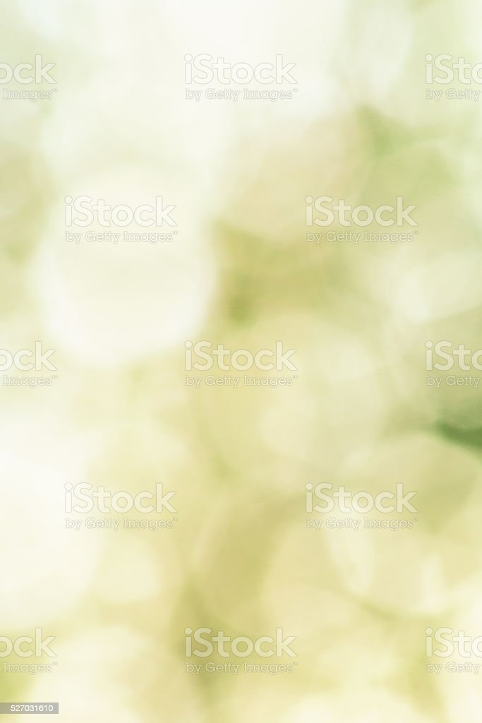 Abstract green background with white shapes stock photo