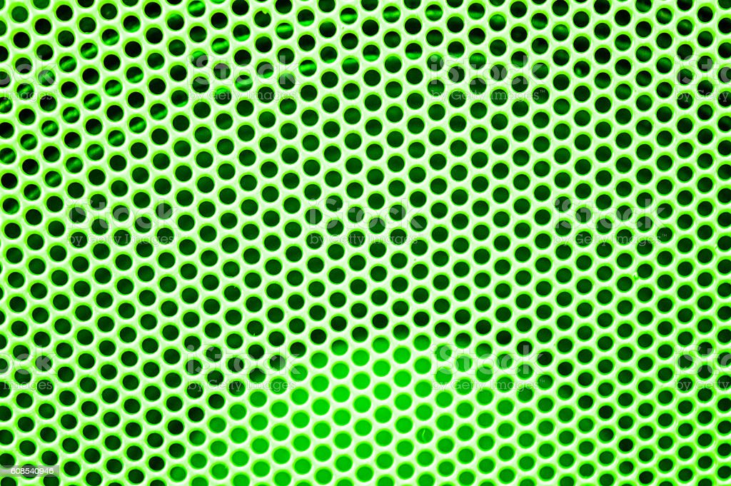 abstract green dots pattern background stock photo