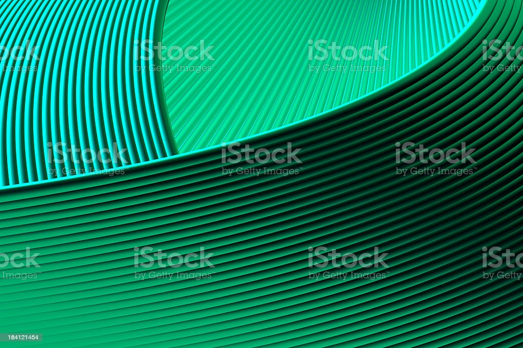 Abstract Green Dynamic Element royalty-free stock photo