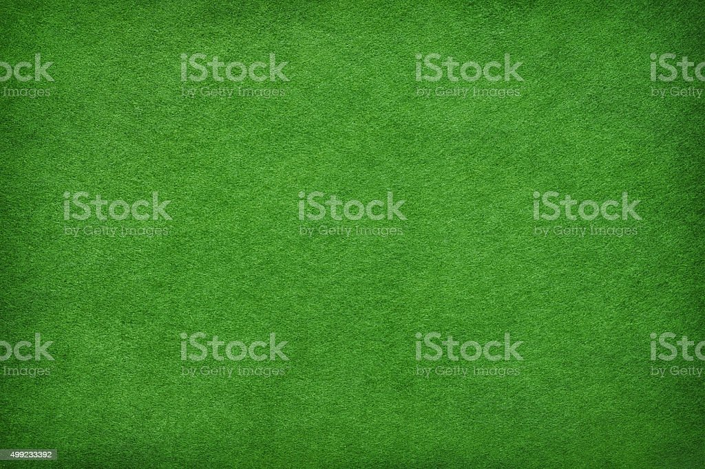 Abstract green felt background stock photo