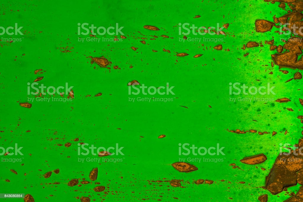 Abstract green grunge background of Old wall stock photo