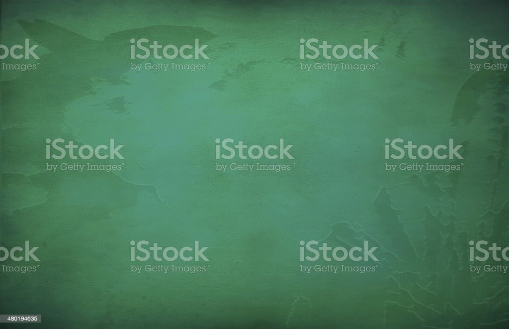 Abstract green paint   vintage background royalty-free stock photo