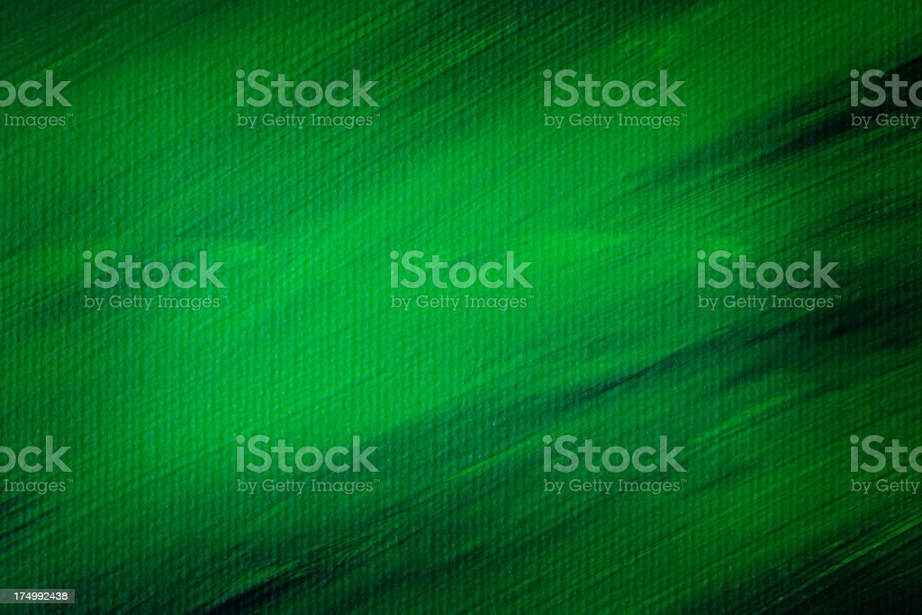 Abstract green painting stock photo