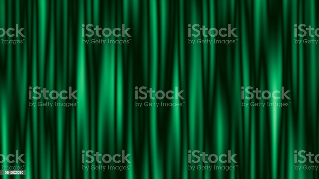 Abstract green striped background with copy space stock photo