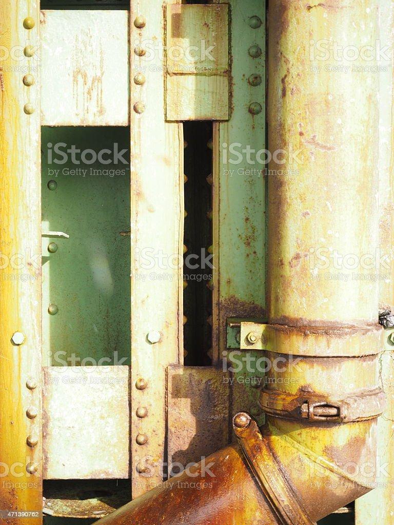 Abstrait vert Structure et Passepoil photo libre de droits