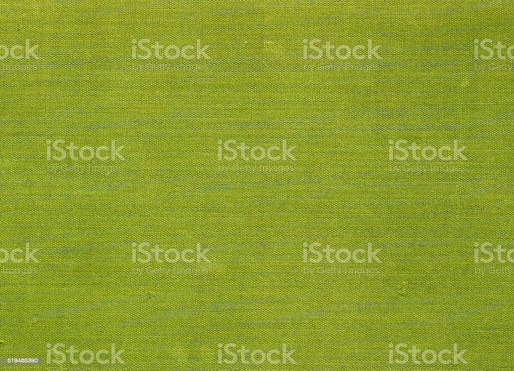Abstract green textile texture and background. stock photo