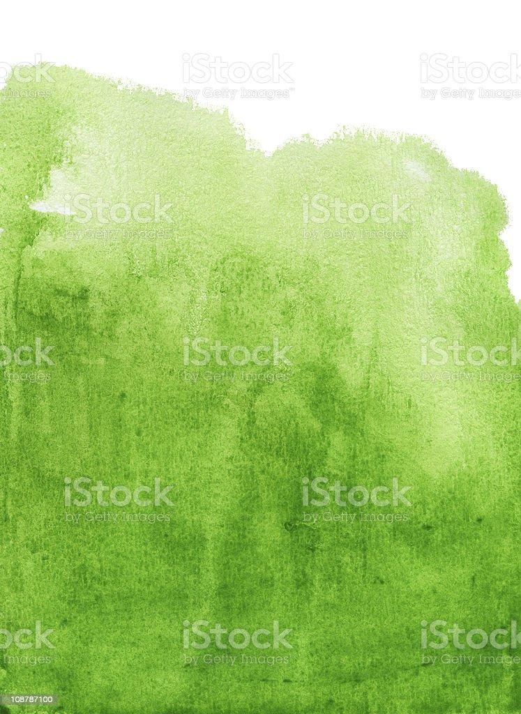 abstract green watercolor background stock photo