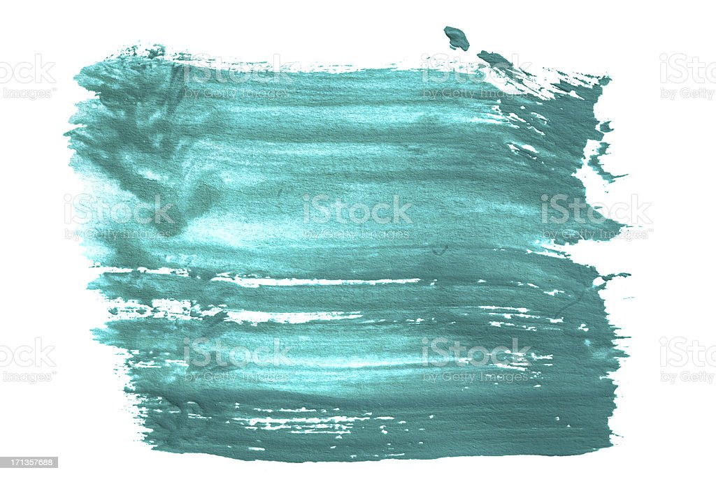 abstract green watercolor background royalty-free stock photo