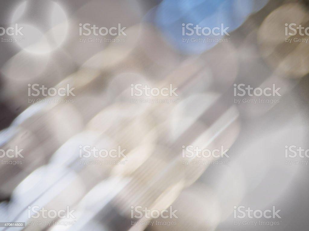 Abstrato cinza com luzes de fundo defocused. vetor e ilustração royalty-free royalty-free