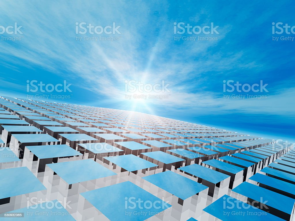 Abstract Grid Background stock photo