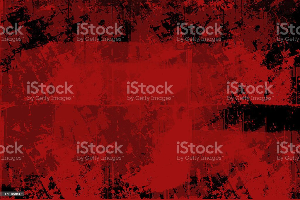 Abstract - Grunge Background  - Red and Black royalty-free stock photo