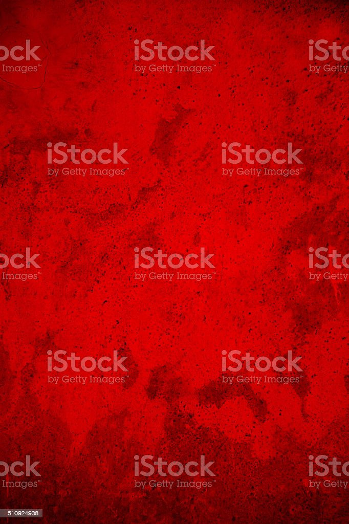 Abstract Grunge Red Wall Background stock photo