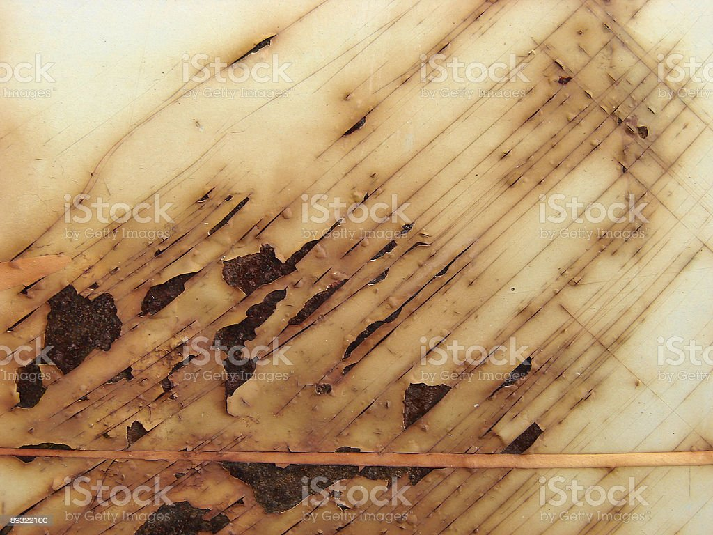 abstract grunge style red rust on corroded metal surface royalty-free stock photo
