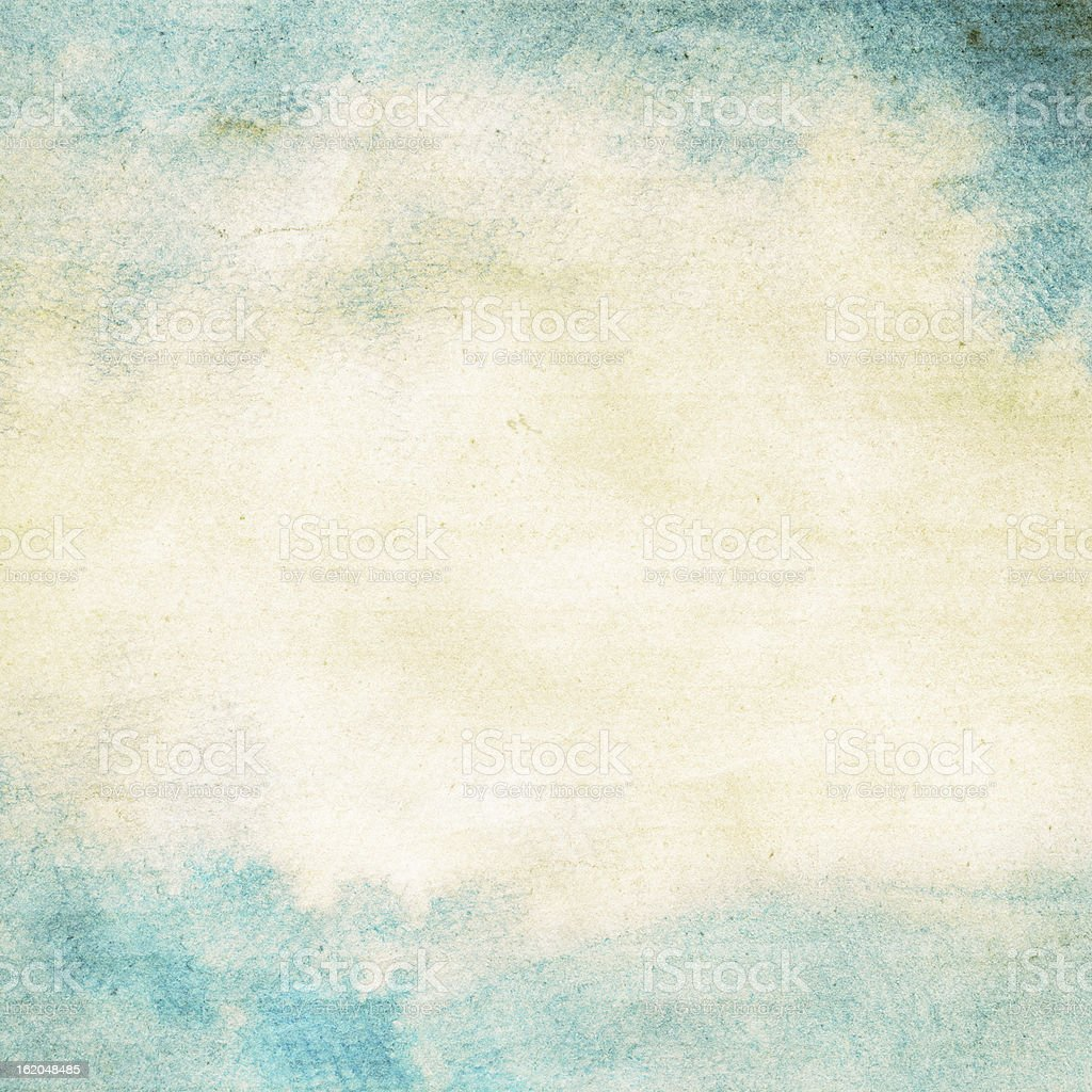 Abstract grunge watercolor background. vector art illustration