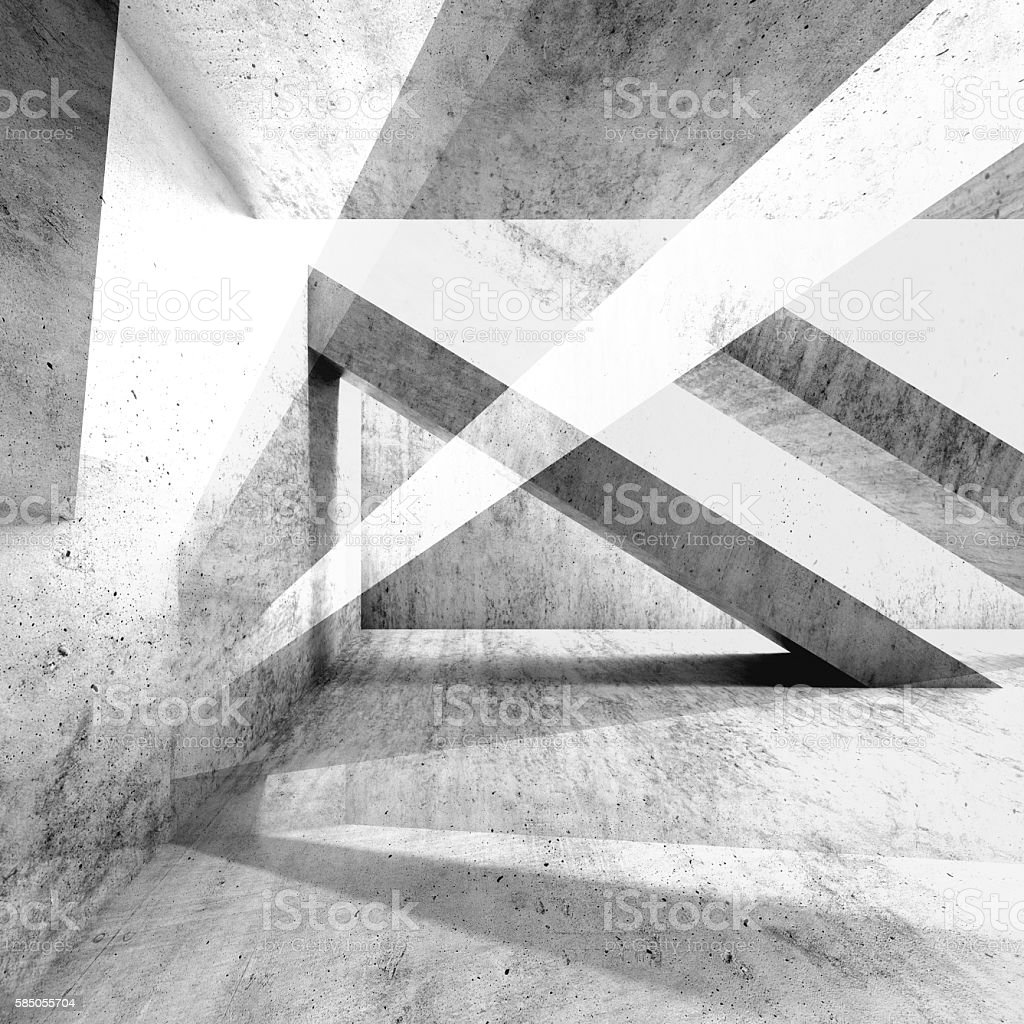 Abstract grungy concrete wall background 3d stock photo
