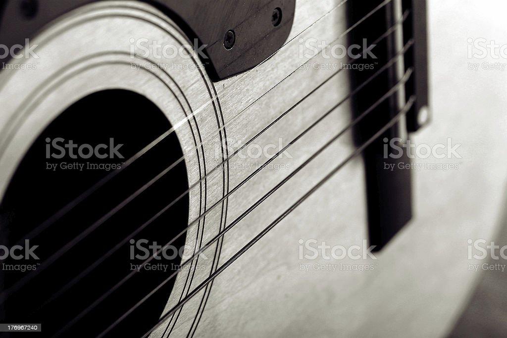 Abstract guitar royalty-free stock photo
