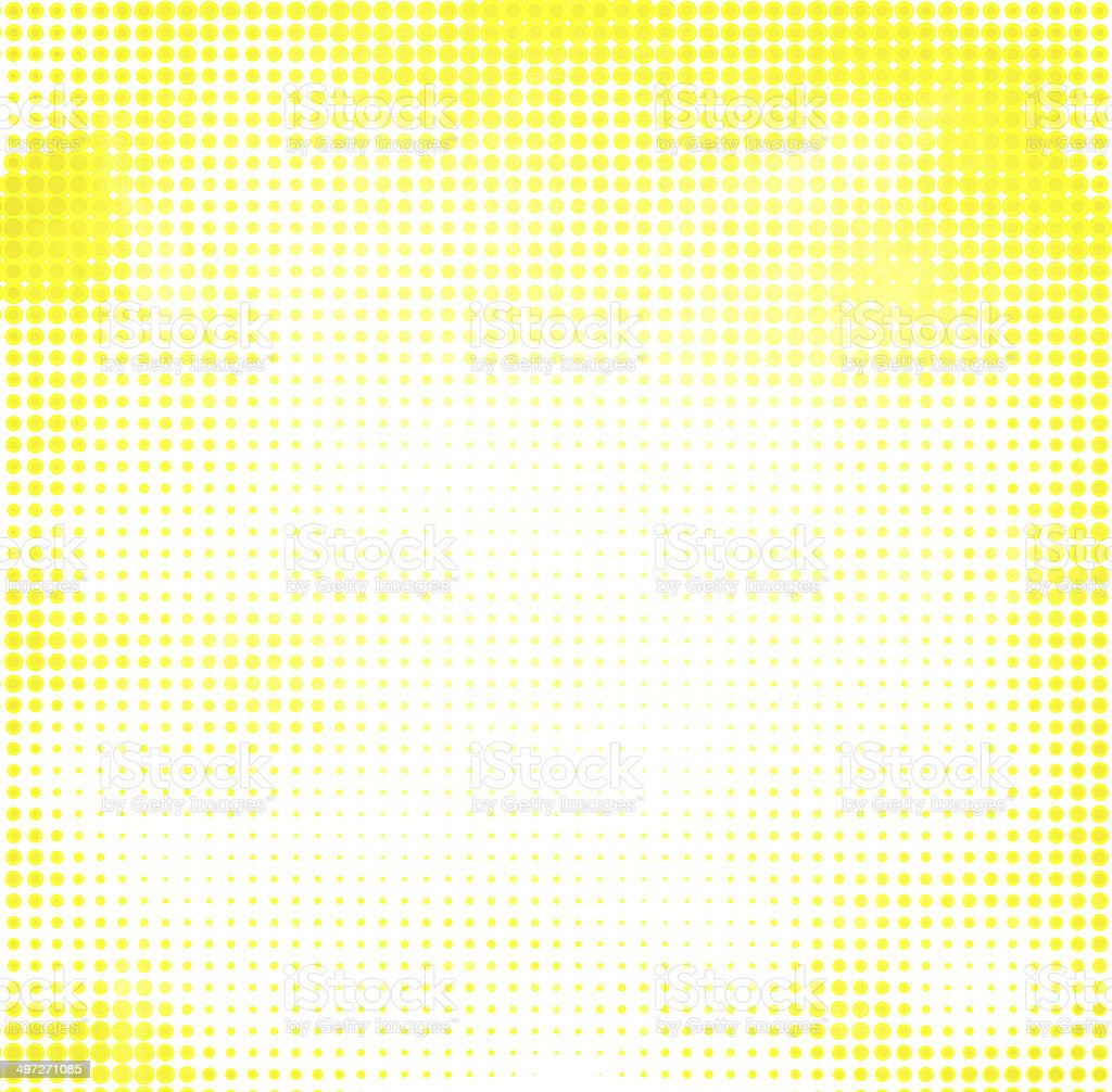 abstract halftone yellow bright background stock photo