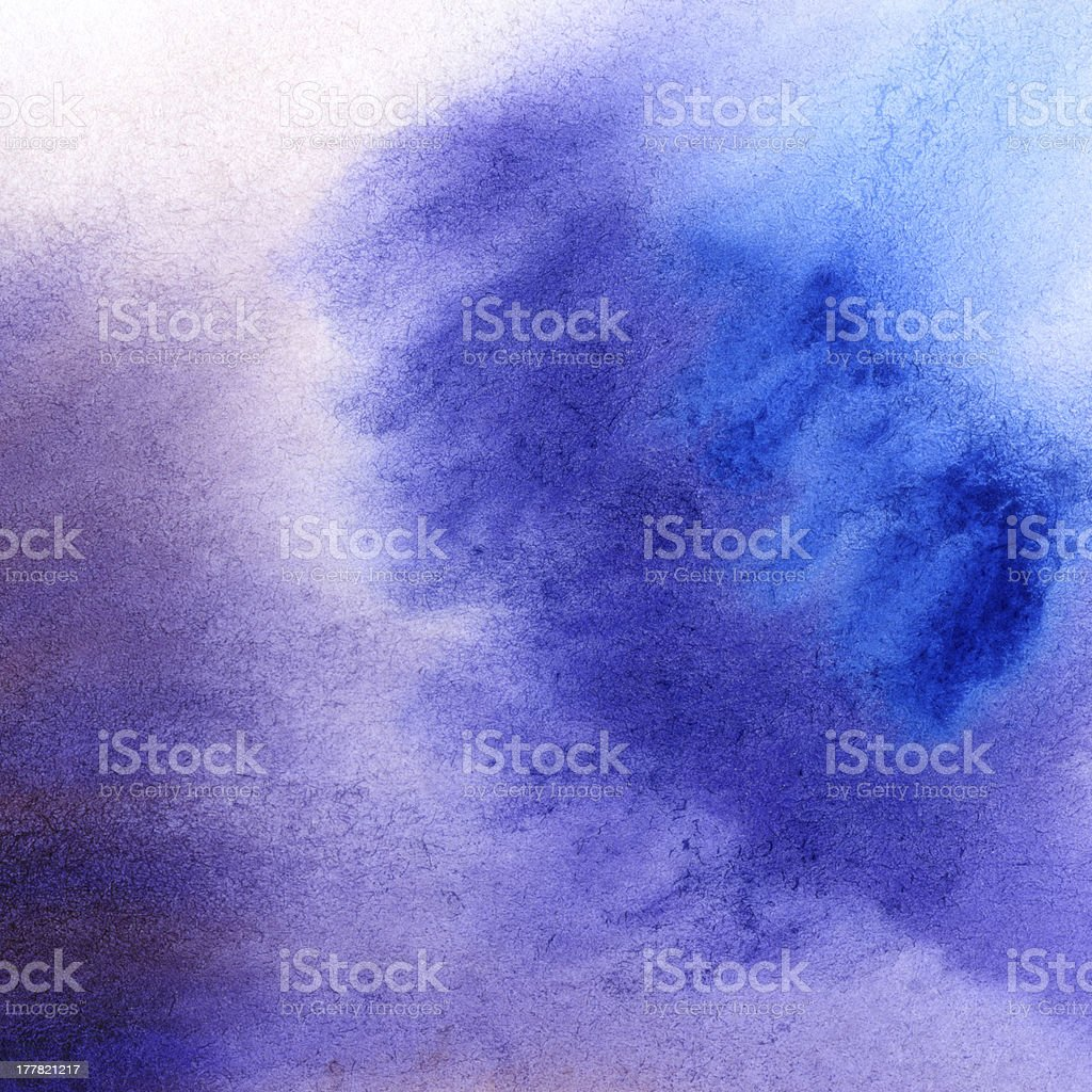 Abstract hand drawn watercolor background royalty-free stock photo