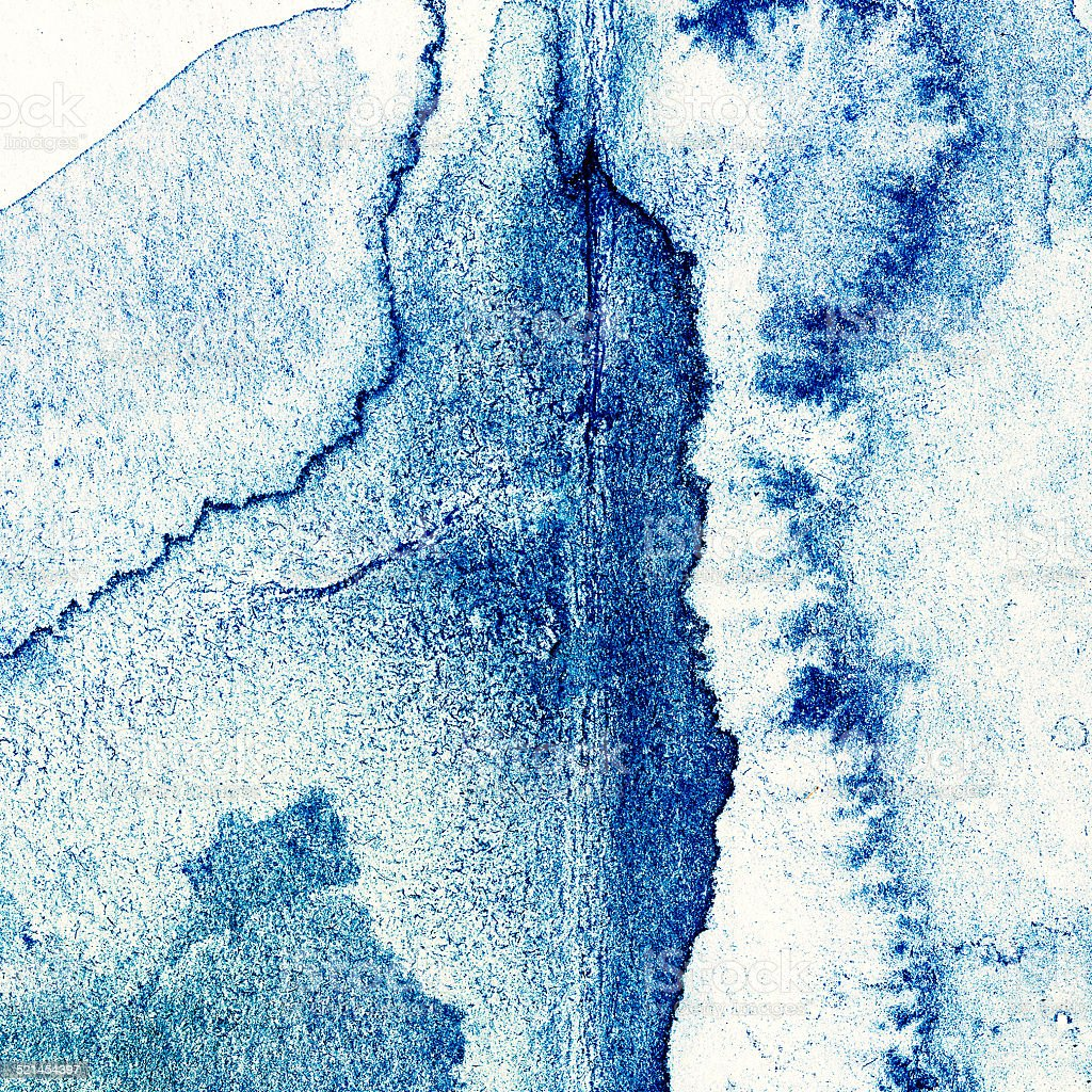 Abstract hand drawn watercolor background, raster illustration. stock photo