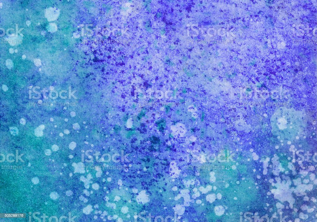 Abstract hand painted background with texture and color gradient vector art illustration