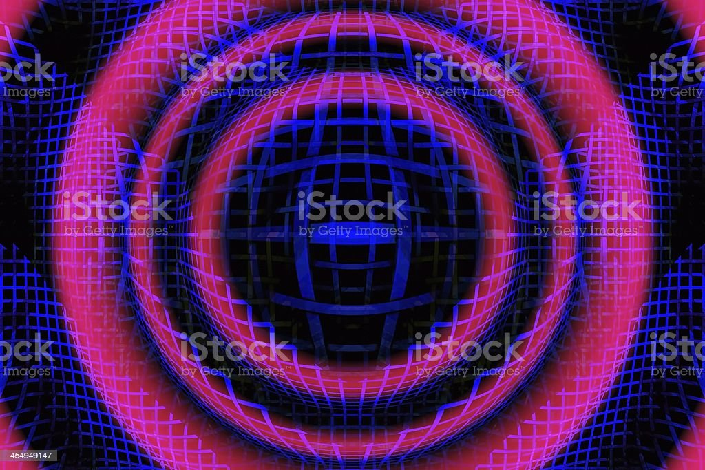 Abstract Helix 3D Art  Background stock photo