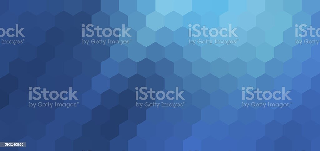 abstract hexagon background stock photo