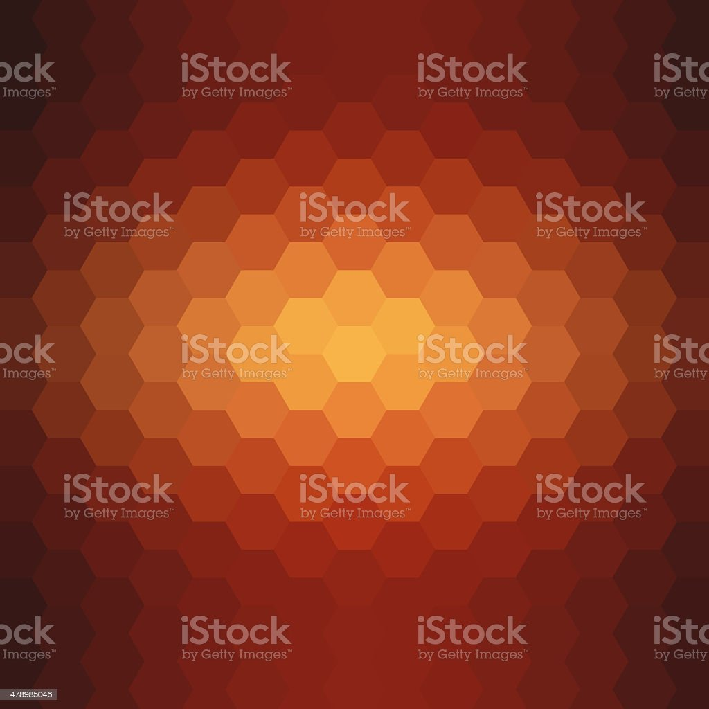 Abstract hexagon pattern background stock photo