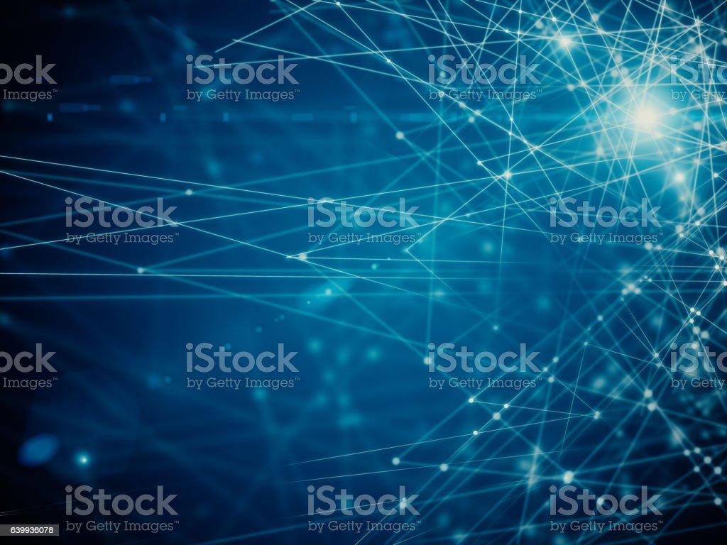 Abstract hexagonal background stock photo
