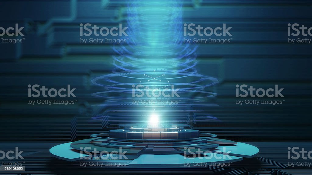 Abstract HighTechnology Background stock photo