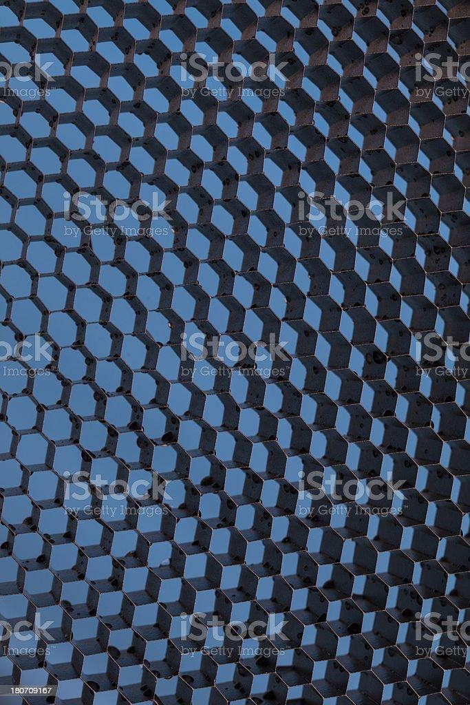 Abstract Honeycomb royalty-free stock photo