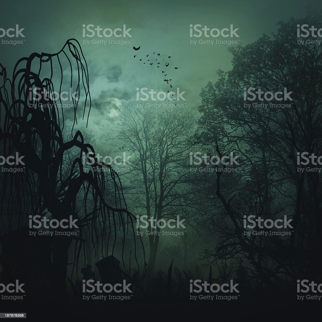 Abstract horror backgrounds for your design stock photo