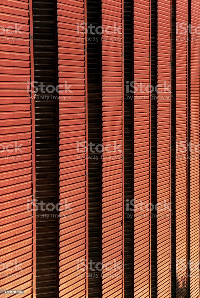 Abstract - Hot Tin Roof royalty-free stock photo