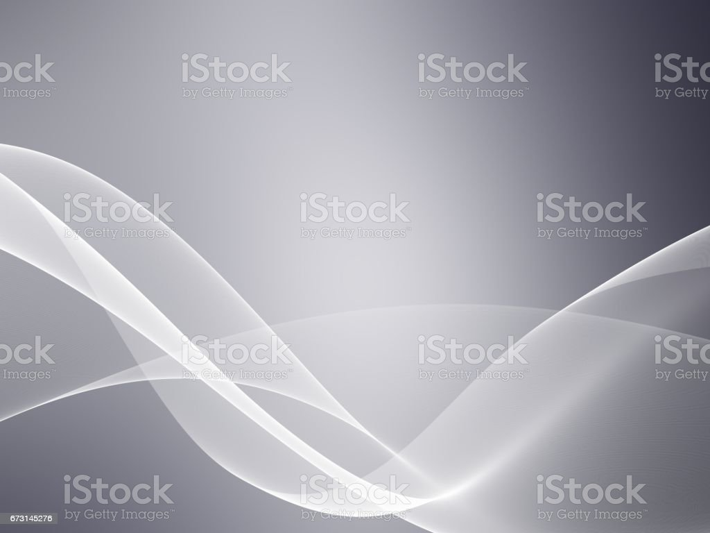 Abstract illustration of wavy flowing energy stock photo