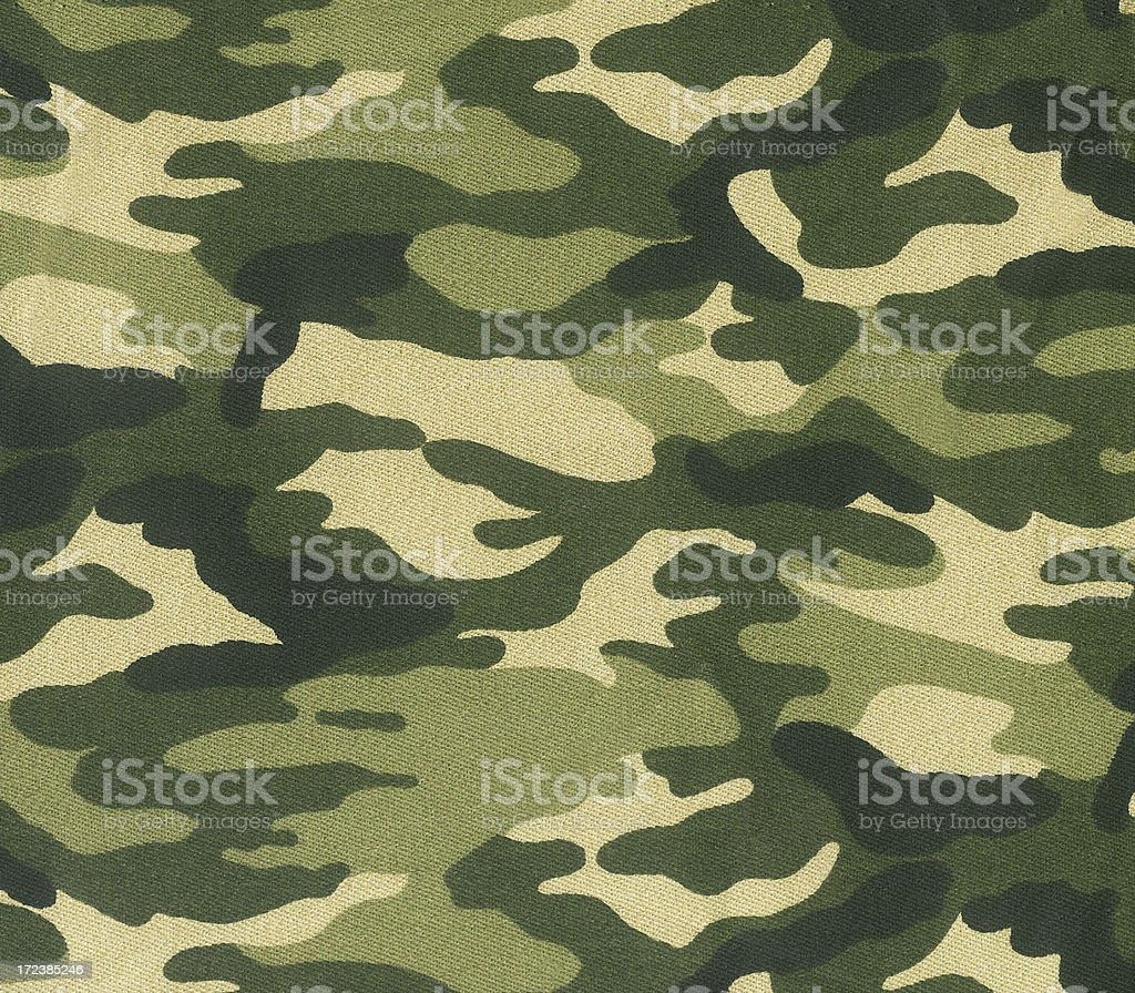 Abstract image of green camouflage stock photo