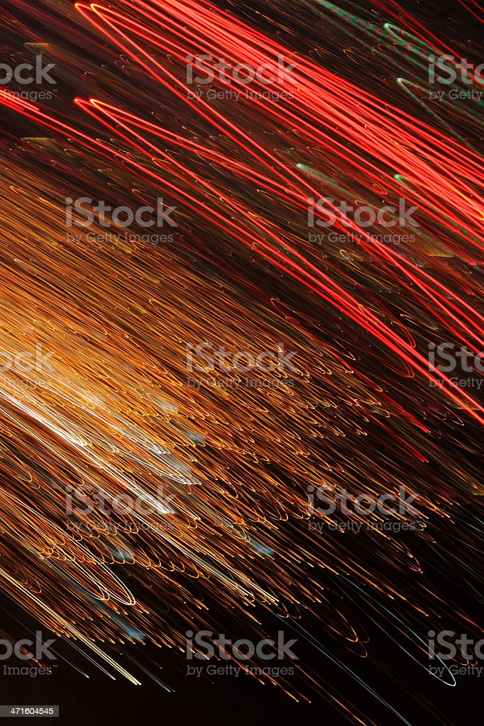 Abstract image of lights royalty-free stock photo