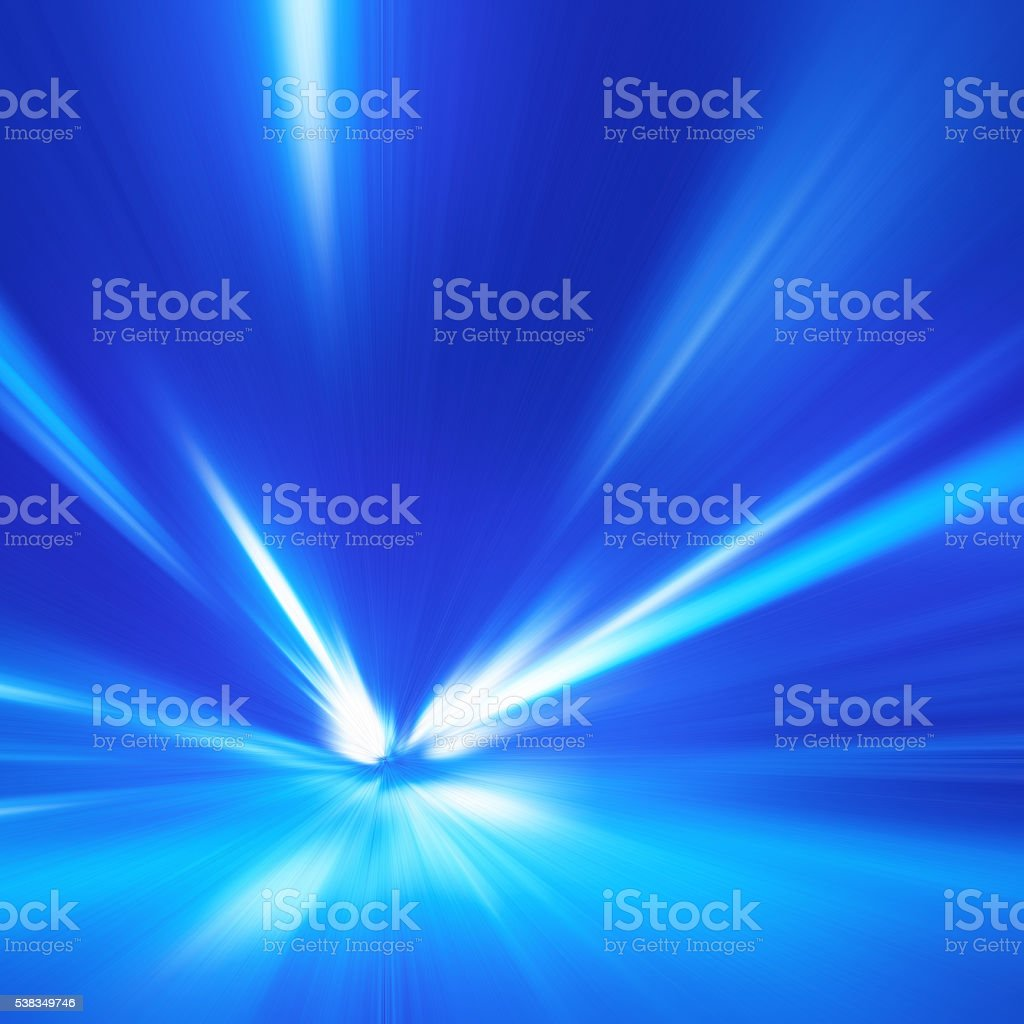 Abstract image of speed motion. stock photo
