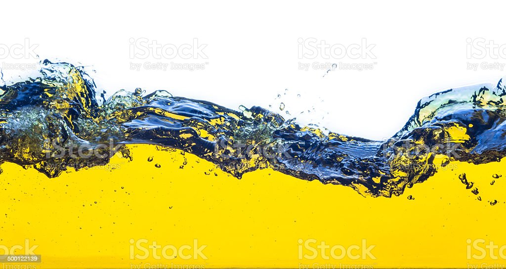 abstract image of spilled oil royalty-free stock photo
