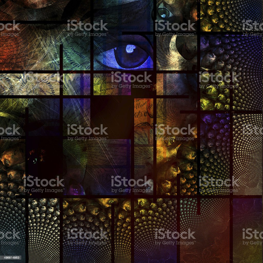 Abstract Image stock photo
