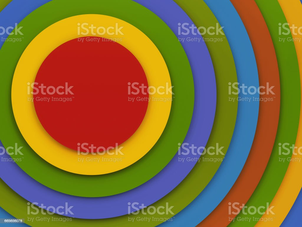 Abstract infographic design template stock photo