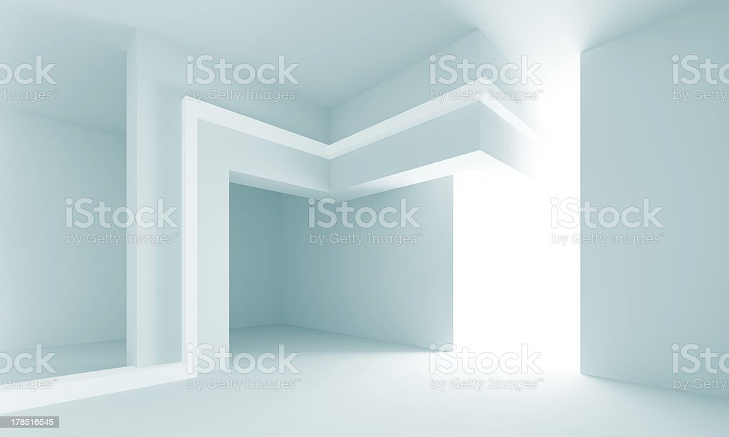 Abstract Interior Design royalty-free stock photo