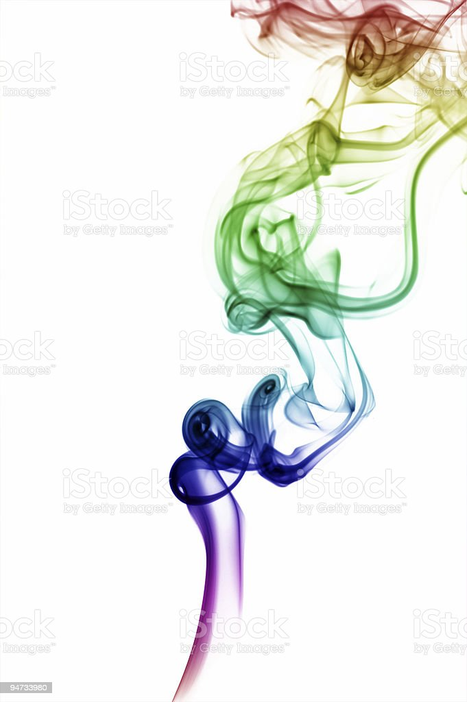 abstract isolated smoke royalty-free stock photo