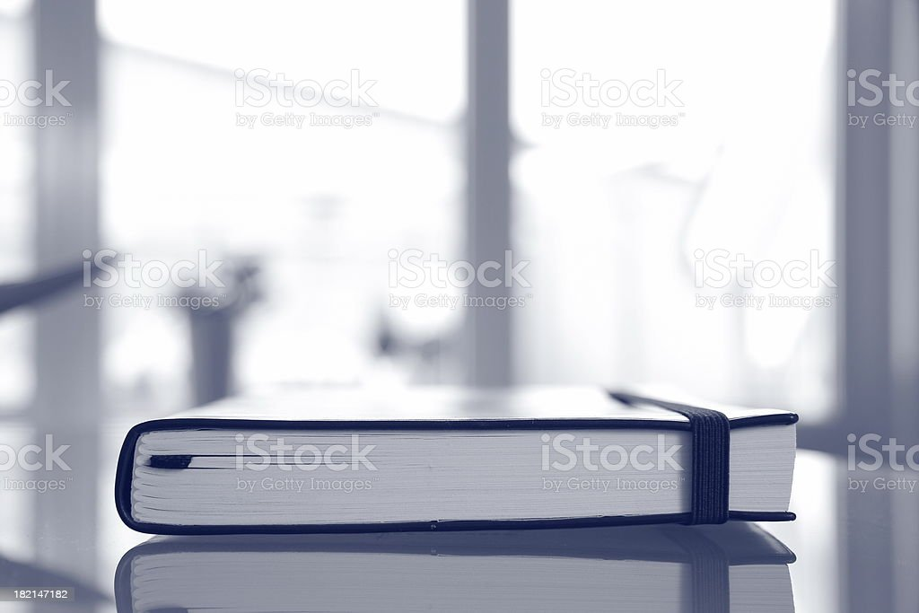 Abstract jotter stock photo