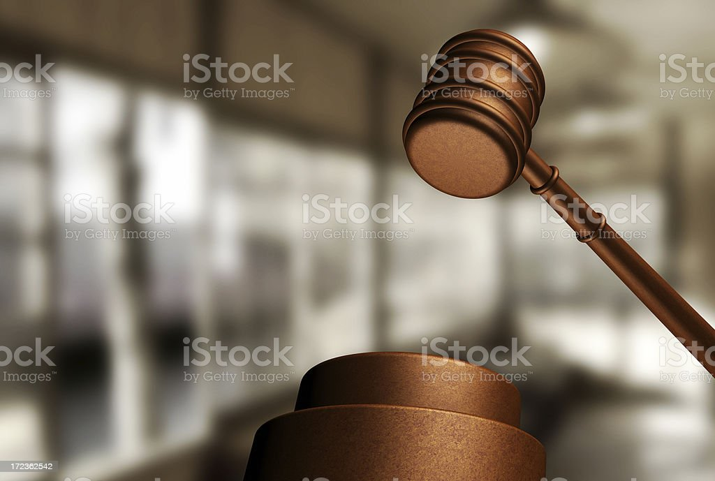 Abstract justice concept stock photo