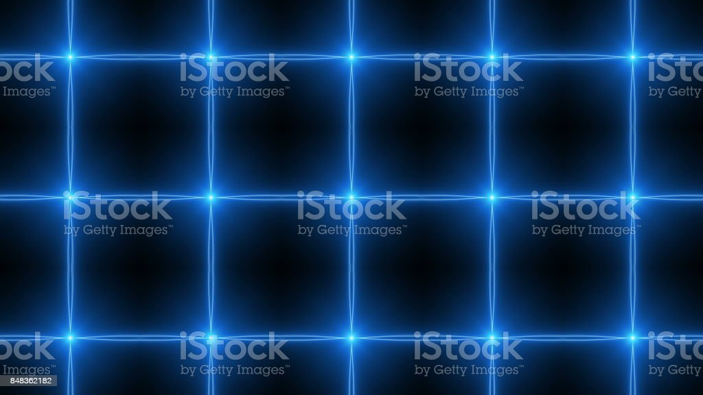 Abstract kaleidoscope. 3d rendering technology background stock photo