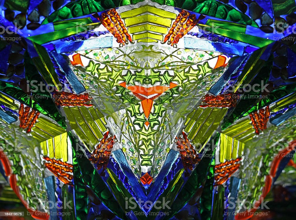 abstract kaleidoscope royalty-free stock photo