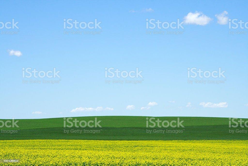 Abstract Land & Sky stock photo