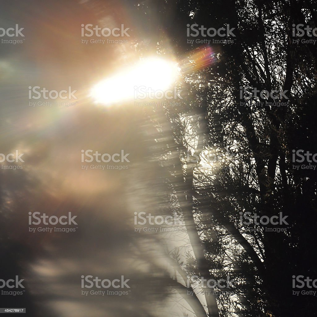 abstract landscape blur royalty-free stock photo