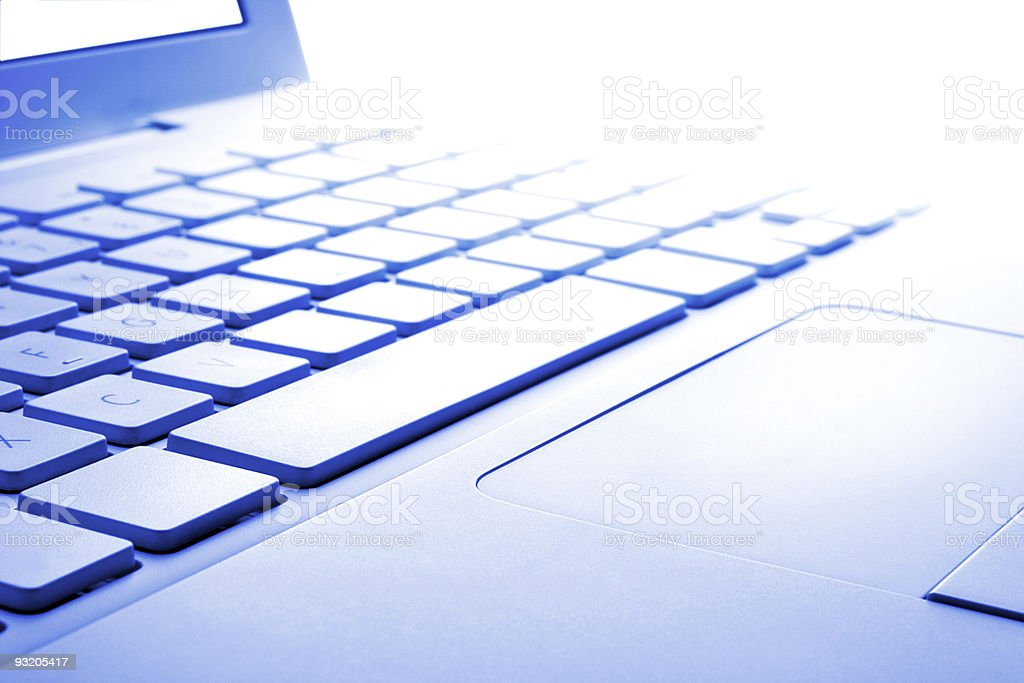 Abstract laptop in hikey royalty-free stock photo